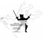 Pirate Tobias Soft-Heart Welch Silhouette Yard Art Woodworking Pattern - fee plans from WoodworkersWorkshop® Online Store - swords,pirates,skaliwags,shadow art,Halloween,silhouettes,yard art,painting wood crafts,scrollsawing patterns,drawings,plywood,plywoodworking plans,woodworkers projects,workshop blueprints