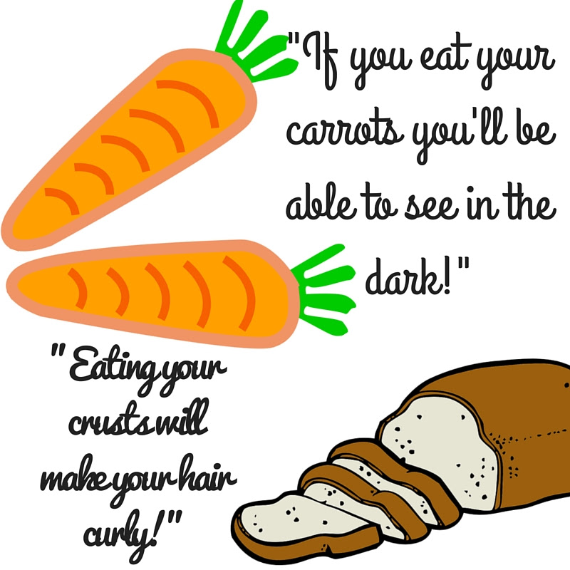 If you eat your crusts...