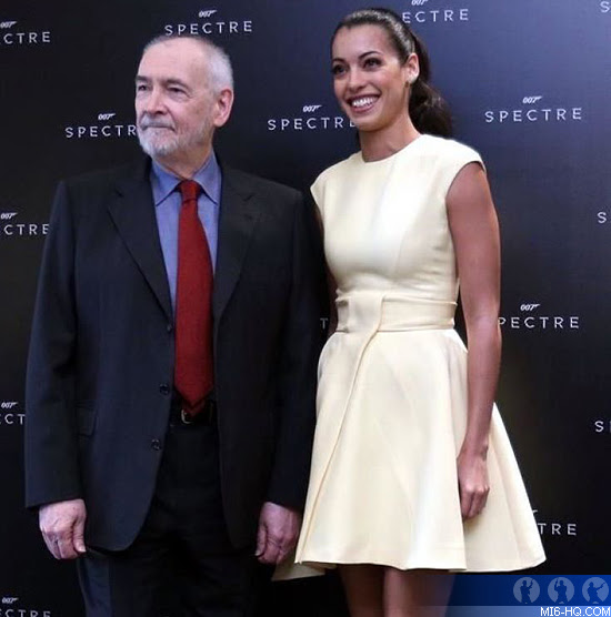 Michael Wilson and Stephanie Sigman in Mexico for SPECTRE
