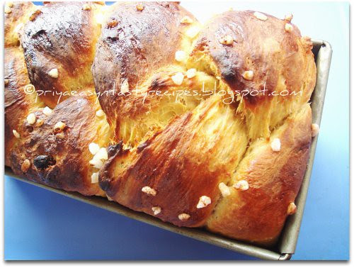 Orange & Dry Fruits Brioche