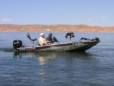 Robert Eves' bass boat