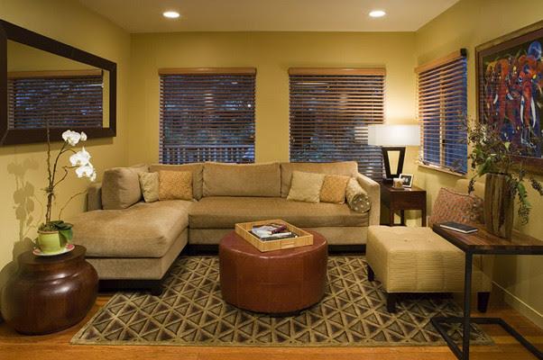 AND Interior Design Studio - contemporary - family room - san ...