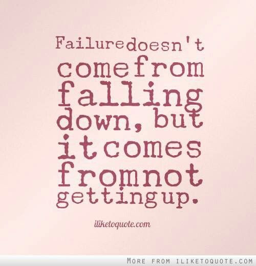Top 100+ Quotes About Getting Back Up After Failure