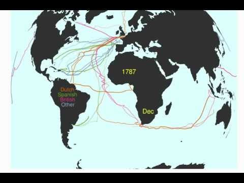 Sapping Attention: Visualizing Ocean Shipping
