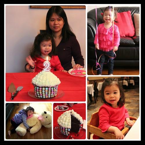 Cupcake collage