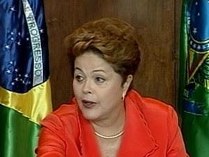 Dilma Rousseff em entrevista ao Painel RBS (Foto: Reprodução/RBS TV)