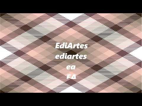 nosso canal no youtube: EdiArtes...Criando um canal de artes gerais...