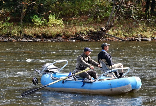 Raft on the Housatonic River