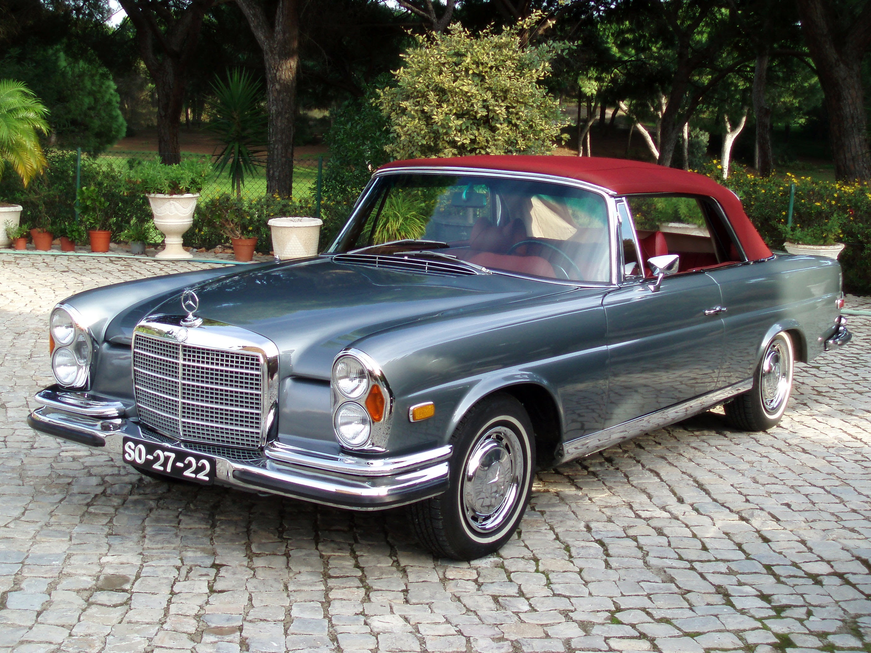 1970 Mercedes-Benz 280SE - Information and photos - MOMENTcar