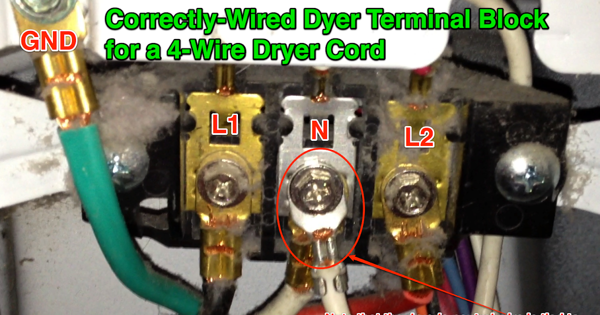 20 Beautiful 4 Wire Dryer Outlet Wiring Diagram