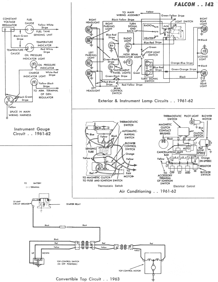 Ford Falcon Ignition Wiring Diagram