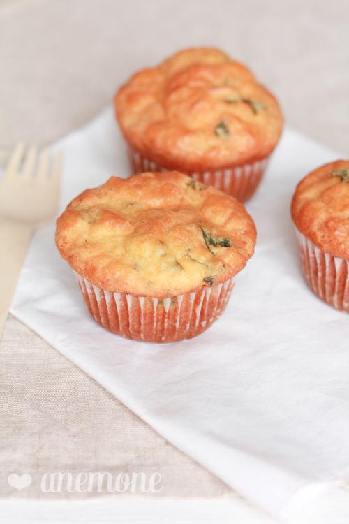 Muffins piccanti al prezzemolo