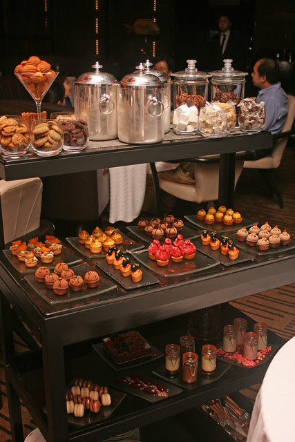 Guy Savoy's dessert trolley: The thing that lights up every diner's face at the end