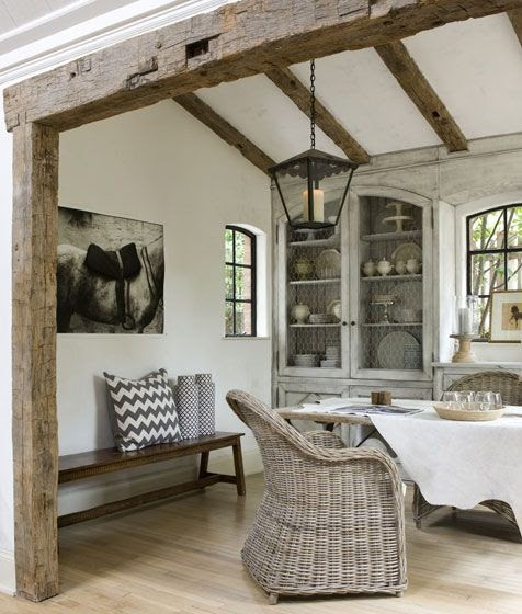 Grey In Home Decor Passing Trend Or Here To Stay: Modern Country Style: The Grey Rattan Kubu Chair: Belgian