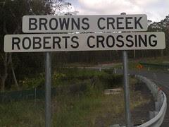 Browns Creek