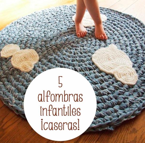 5 alfombras infantiles ¡caseras! - Pequeocio