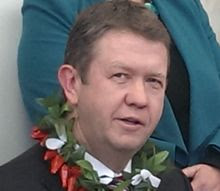David Cunliffe announces his leadership bid.