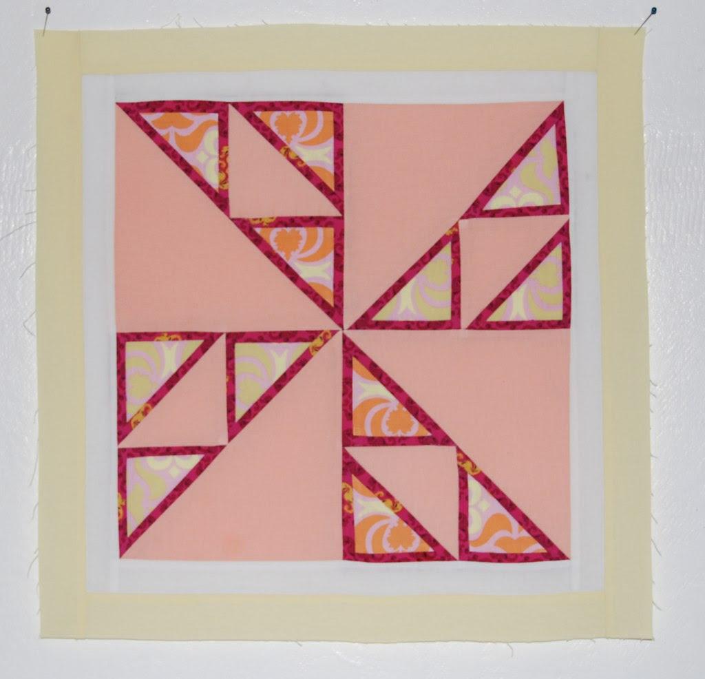 Triple framed pinwheel
