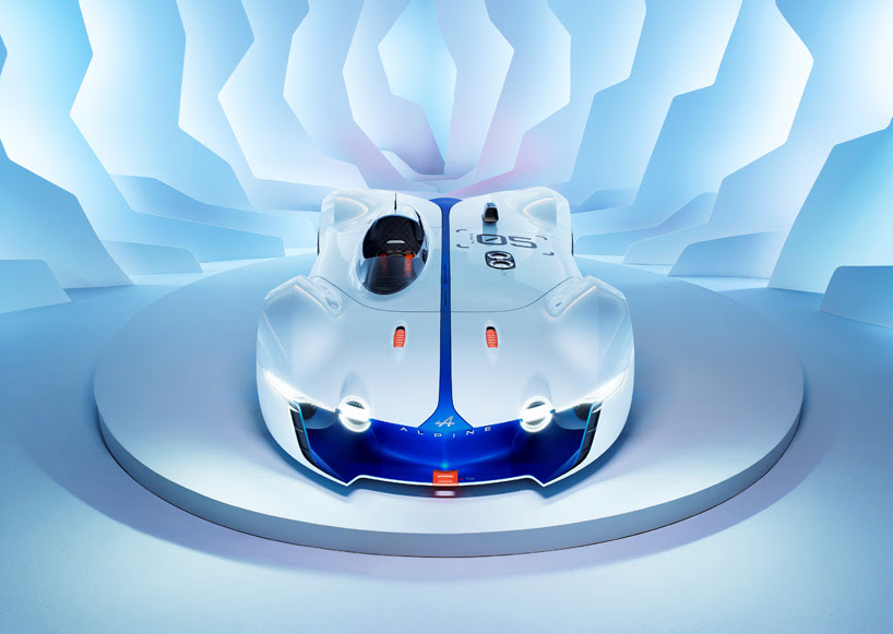renault's alpine vision GT concept developed for gran turismo 6