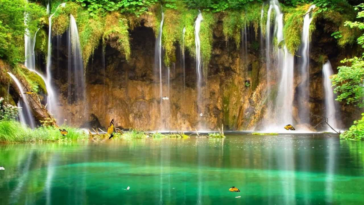 Charm Waterfall Animated Wallpaper http://www ...