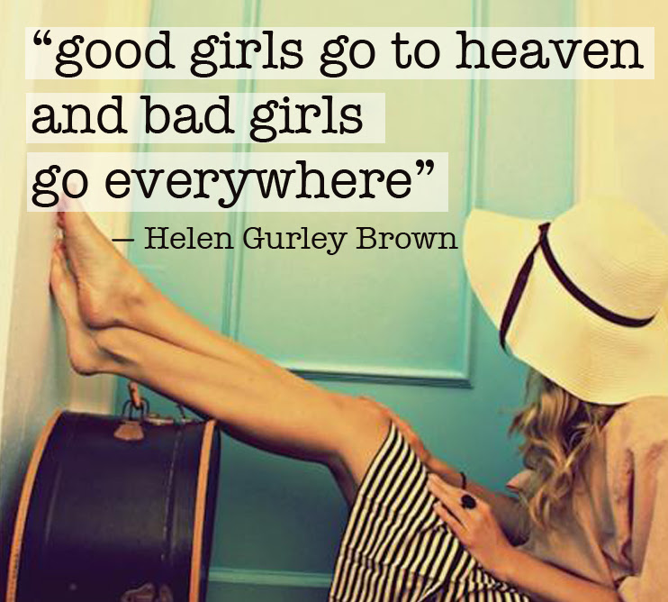 Be A Good Girl Mums The Word