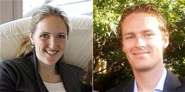 Katrina Dawson y Tori Johnson fueron las víctimas de la toma a un café en Sídney.