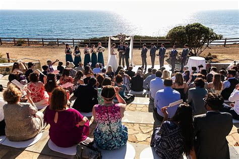 Wedding At Point Vicente Interpretive Center In Rancho