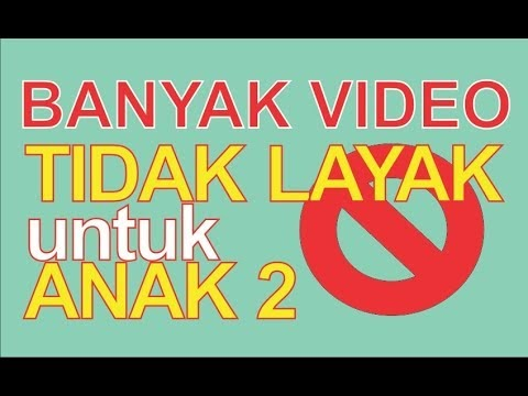 Supaya Anak2 Tidak Kebablasan saat Nonton Video