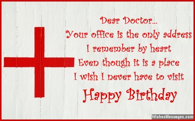 Birthday Wishes For Medical Doctor Son