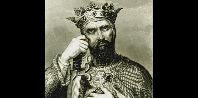 Godefroi de Bouillon (1058-1100), premier souverain chrétien de Jérusalem (Gravure du XIXème siècle).  (©ABECASIS/SIPA)