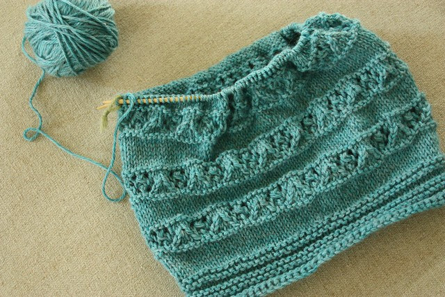 Knitted Hat WIP