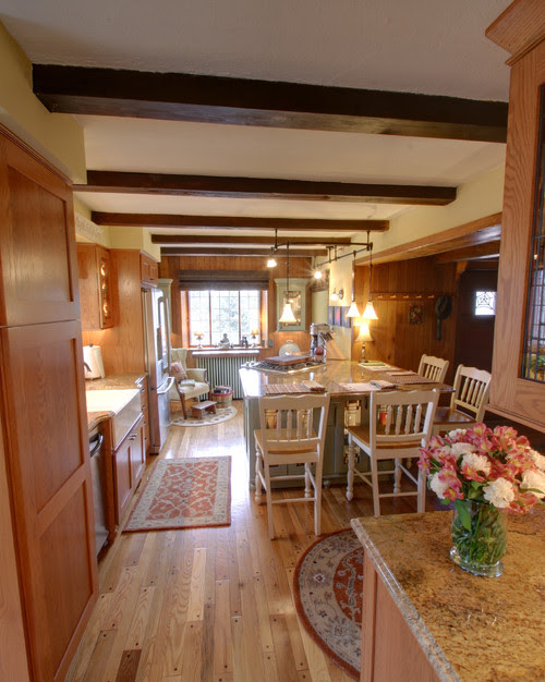 Cottage Charm: Kitchen Renovation traditional kitchen