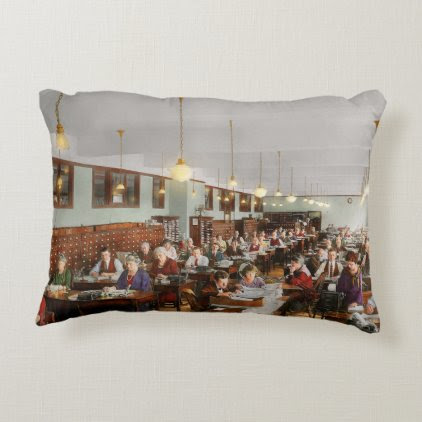 Accountant - Workaholic 1923 Decorative Pillow