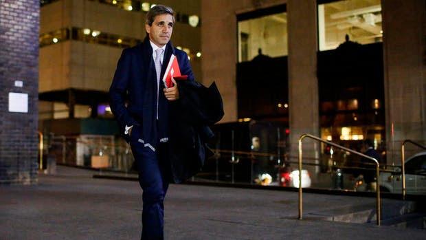 El secretario de Finanzas, Luis Caputo