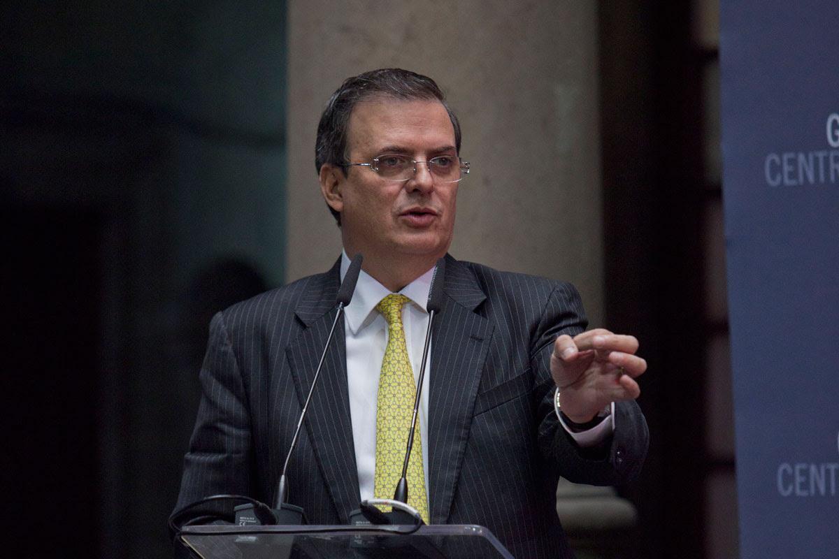 Marcelo Ebrard, exjefe de gobierno capitalino. Foto: Miguel Dimayuga