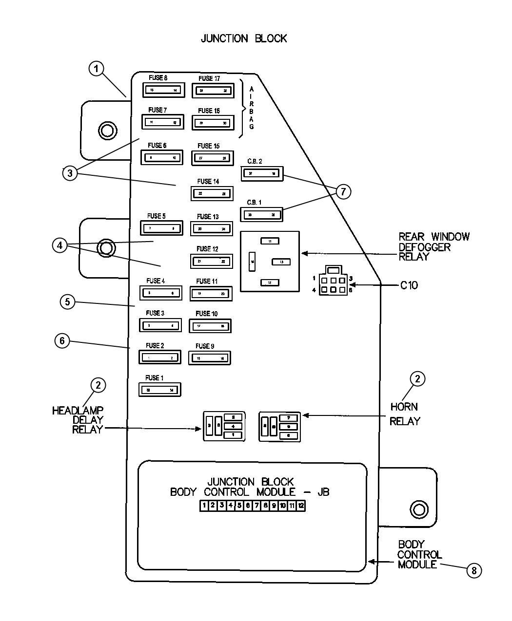 Fuse Box Diagram For 2005 Dodge Stratus Wiring Diagram Shorts Pair A Shorts Pair A Zaafran It