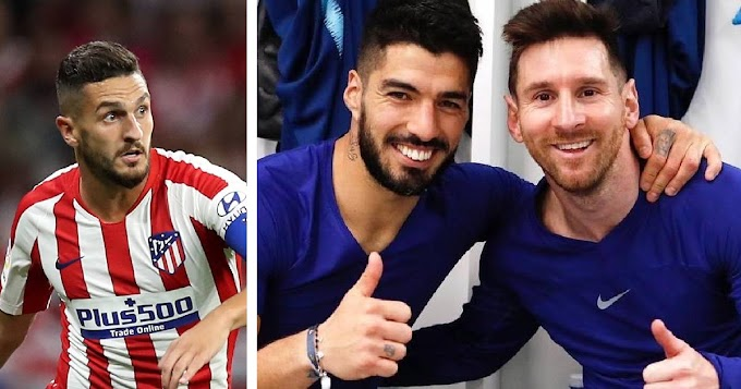 'Maybe Suarez can convince him':  Koke speaks on Leo Messi's move