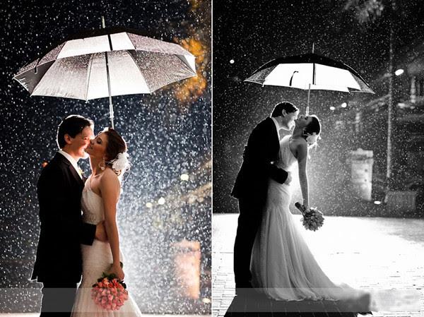 Lưu ý khi chụp ảnh cưới vào mùa mưa