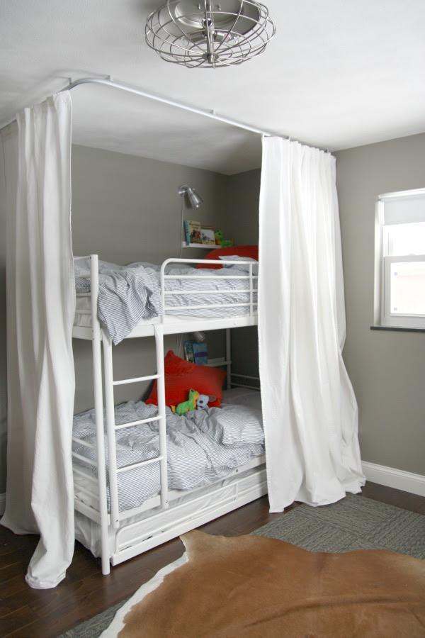Diy Bunk Bed Curtains Native Home Garden Design