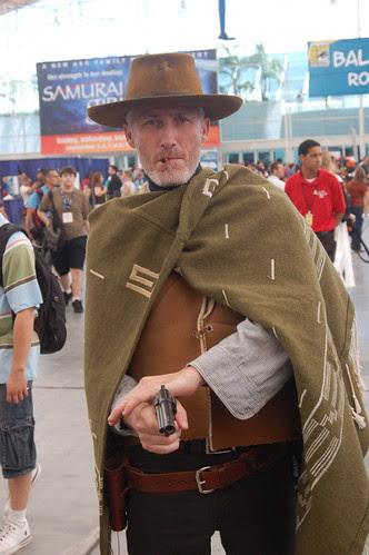 Comic Con 2008: Man with no name