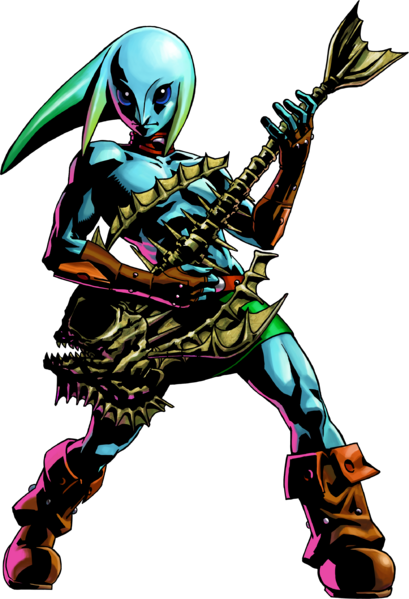 File:MM3D Zora Link Artwork.png