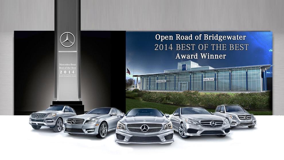 Open Road of Bridgewater | New Mercedes-Benz dealership in ...