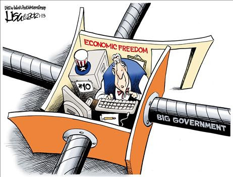 Image result for economic freedom cartoon