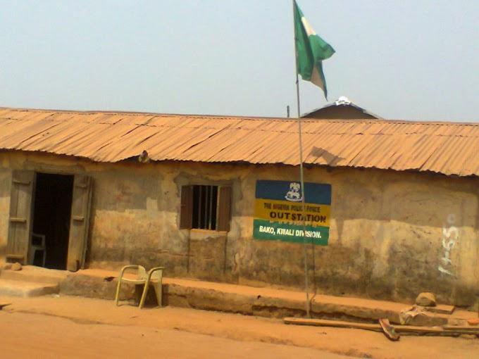 The Deplorable State of the Nigerian Police Station In Kwali Town Abuja