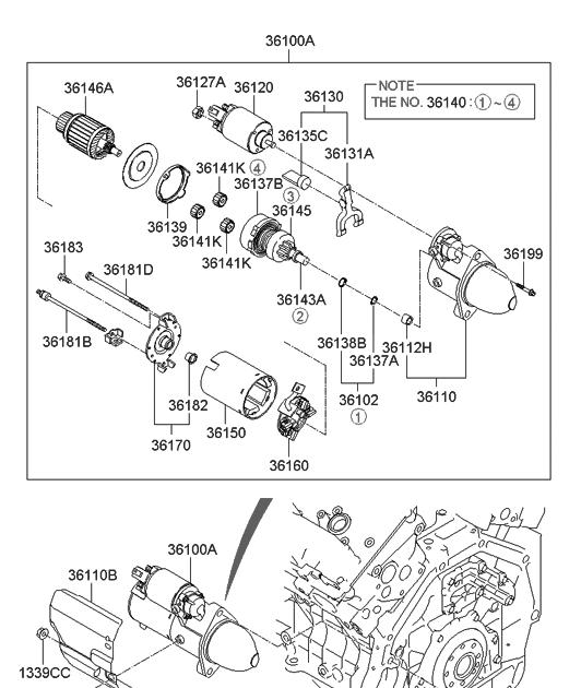 33 2008 Hyundai Sonata Parts Diagram
