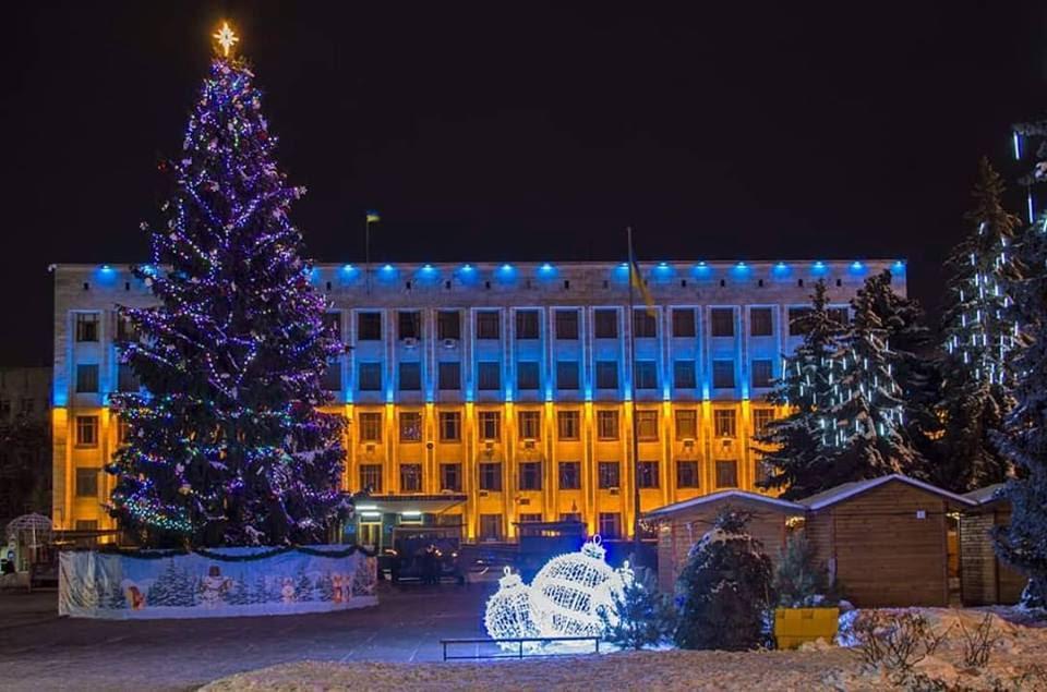 Новорічні та різдвяні свята продовжуються. Святкова програма заходів у Житомирі