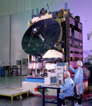 The European Space Agency's Rosetta Spacecraft ready for simulation testing in 2004, an example of underutilized technology in the United States. The spacecraft is currently preparing for its dropping of a lander on a comet, after spending 10 years in space. The first of its kind, it may answer some questions that key to the understanding of our own evolution: how the solar system formed, did comets bring organic matter and/or water to Earth?