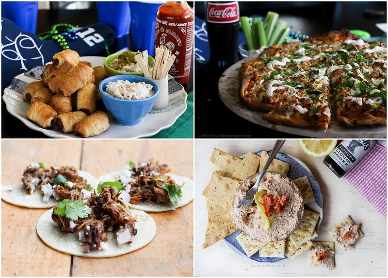 Super Bowl FEASTMODE Recipe Round-up // Loves Food, Loves to Eat
