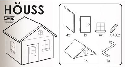 What If Ikea Made Instructions For Houses Dsgn Mode Beta