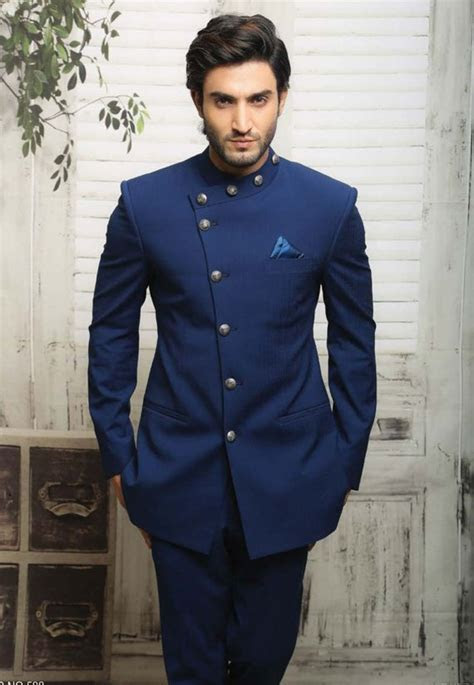 Unique Blue Jodhpuri Suit in 2019   Products   Mens